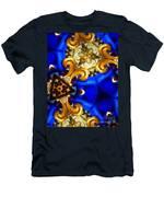 Kaleidoscopic Blues Fdl  Men's T-Shirt (Athletic Fit)