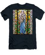 Madonna And Child Men's T-Shirt (Athletic Fit)