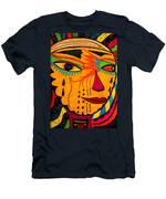 Masks We Wear - Face Men's T-Shirt (Athletic Fit)
