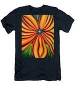 Petal To The Mental Men's T-Shirt (Athletic Fit)