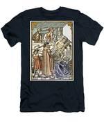 Physician & Plague Victim Men's T-Shirt (Athletic Fit)