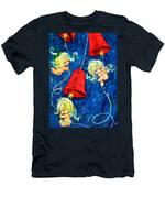 Red Bells Men's T-Shirt (Athletic Fit)