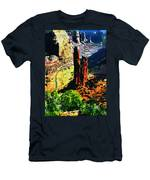 Spider Rock Canyon Dechelly  Men's T-Shirt (Athletic Fit)