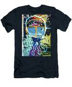 Squid On The Loose Men's T-Shirt (Athletic Fit)