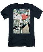 View From The Top Of Munich City Hall Men's T-Shirt (Athletic Fit)