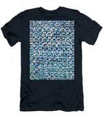 Wall Of Skulls Men's T-Shirt (Athletic Fit)