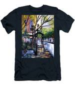 A Saturday Stroll  Men's T-Shirt (Athletic Fit)