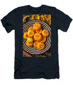 Basket Full Of Small Pumpkins Men's T-Shirt (Athletic Fit)