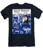 Half Smilin' Men's T-Shirt (Athletic Fit)