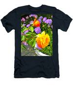 My Beautiful Roses Men's T-Shirt (Athletic Fit)