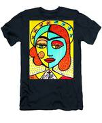 Sun Praying Angel Men's T-Shirt (Athletic Fit)