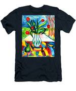 Tulips And A Pear Men's T-Shirt (Athletic Fit)