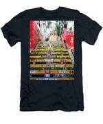 Escadaria Selaron In Rio De Janeiro Men's T-Shirt (Athletic Fit)