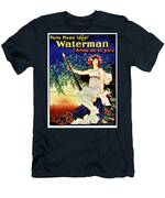 1919 Waterman Fountain Pen Men's T-Shirt (Athletic Fit)