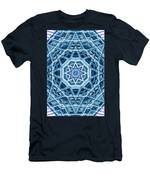 Abstract Blue 22 Men's T-Shirt (Athletic Fit)