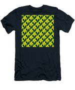 Background Choice Daffodils Men's T-Shirt (Athletic Fit)