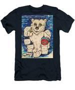 Coca Cola Bear Men's T-Shirt (Athletic Fit)