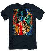 Colorful Nude Men's T-Shirt (Athletic Fit)