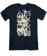 Cosmic Children In Space Men's T-Shirt (Athletic Fit)