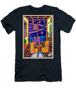 Couple Looking At Star Men's T-Shirt (Athletic Fit)