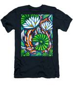 Coy Carp Men's T-Shirt (Athletic Fit)