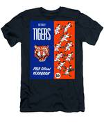 Detroit Tigers 1962 Yearbook Men's T-Shirt (Athletic Fit)