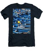 Fishing Boats In Morocco Men's T-Shirt (Athletic Fit)
