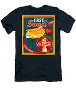 Free Drinks Men's T-Shirt (Athletic Fit)