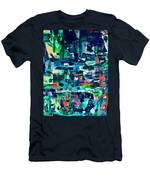 Hole In The Wall Men's T-Shirt (Athletic Fit)