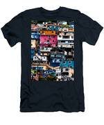 Houses Men's T-Shirt (Athletic Fit)