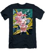 Hybrid Orchids Orchid Flowers Men's T-Shirt (Athletic Fit)