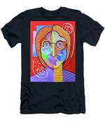 John Lennon Men's T-Shirt (Athletic Fit)