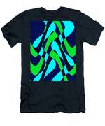 Moveonart Zen Waves Series 2 Men's T-Shirt (Athletic Fit)