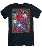 Neuronal Dendrites  Men's T-Shirt (Athletic Fit)