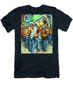 Olympia Brass Band Men's T-Shirt (Athletic Fit)