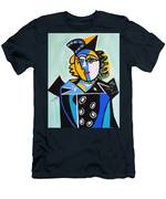 Picasso By Nora  The Queen Men's T-Shirt (Athletic Fit)