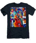Sax And Bass Men's T-Shirt (Athletic Fit)