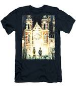 St Nicolaaskerk Church Men's T-Shirt (Athletic Fit)