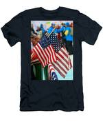 Stars And Stripes Men's T-Shirt (Athletic Fit)