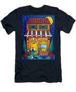 The Little Trattoria Men's T-Shirt (Athletic Fit)