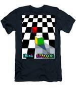 Think Different Men's T-Shirt (Athletic Fit)