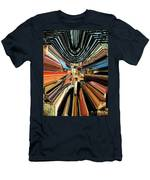 Wheel Abstract Men's T-Shirt (Athletic Fit)