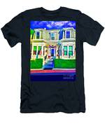 The Prince Albert Guesthouse-provincetown, Massachusetts  Men's T-Shirt (Athletic Fit)