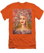 Good Fortune Goddess Men's T-Shirt (Athletic Fit)