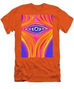 Awakening The Desert Eye Men's T-Shirt (Athletic Fit)