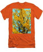 Colors Of Fall - Smatter Men's T-Shirt (Athletic Fit)