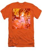 Duck In Warm Light Men's T-Shirt (Athletic Fit)