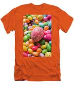 Easter Egg And Jellybeans  Men's T-Shirt (Athletic Fit)