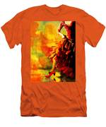 Flamenco Dancer 026 Men's T-Shirt (Athletic Fit)