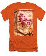 Flower - Orchid - Just Splendid Men's T-Shirt (Athletic Fit)